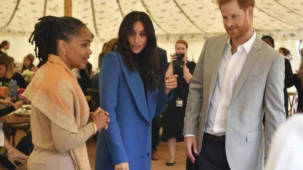 Doria Ragland ha sido un gran apoyo para Meghan Markle y el príncipe Harry.