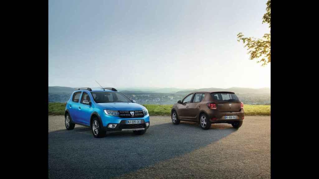 El Dacia Sandero, disponible tanto en gasolina como el diésel, es el coche más vendido en España durante enero.