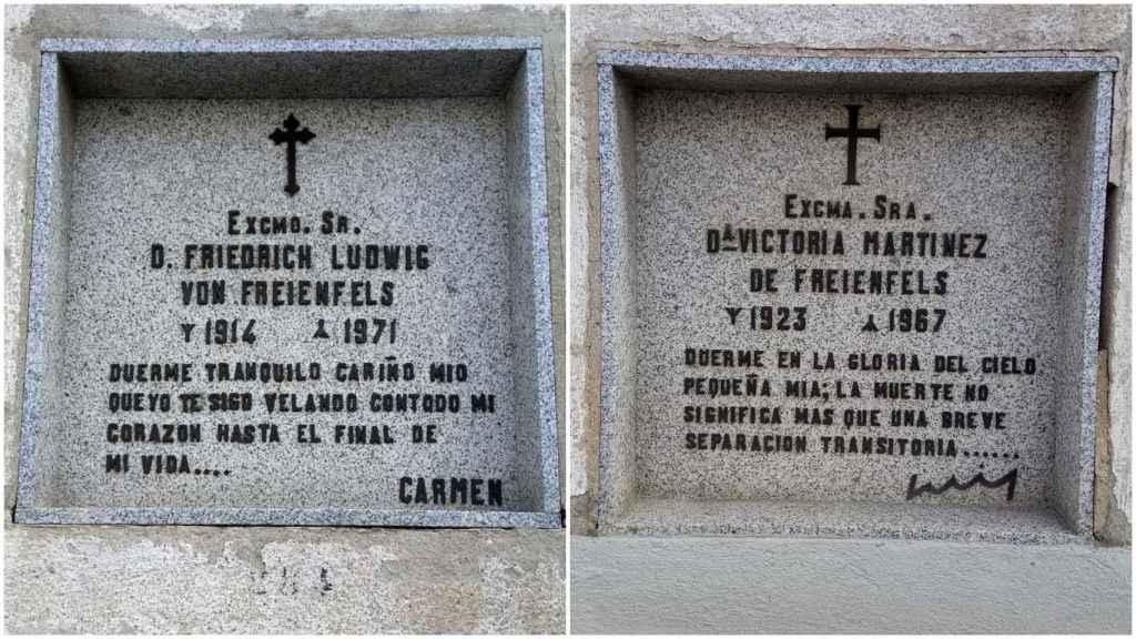 La tumba del Doctor Pirata y de una de sus mujeres.
