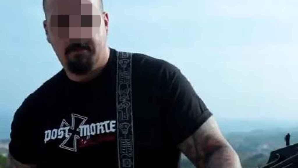 Dídca González, bajista en un grupo de rock ultraderechista, es uno de los nuevos hombres fuertes