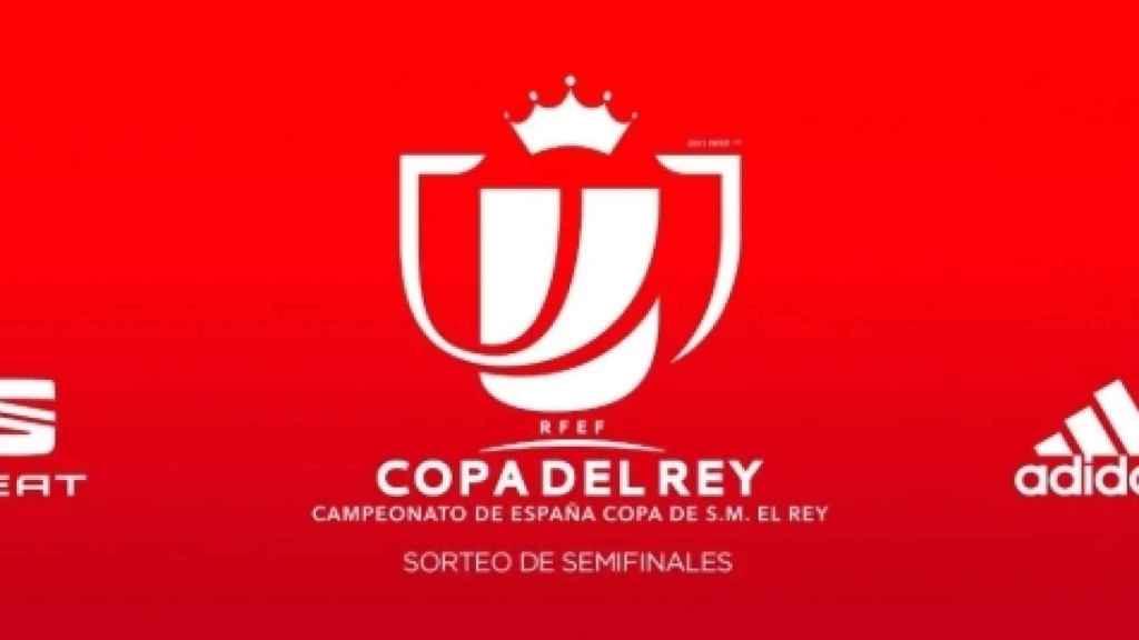 Sorteo de las semifinales de la Copa del Rey