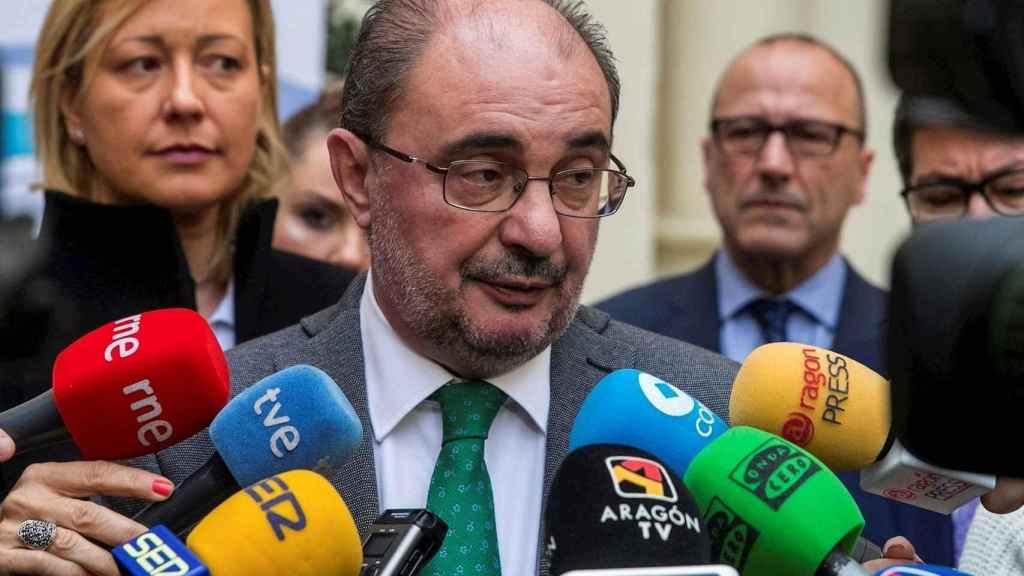 El presidente de Aragón, Javier Lambán, en una imagen reciente.