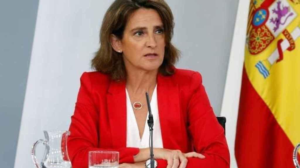 La vicepresidenta de Trasición Ecológica y Reto Demográfico, Teresa Ribera.