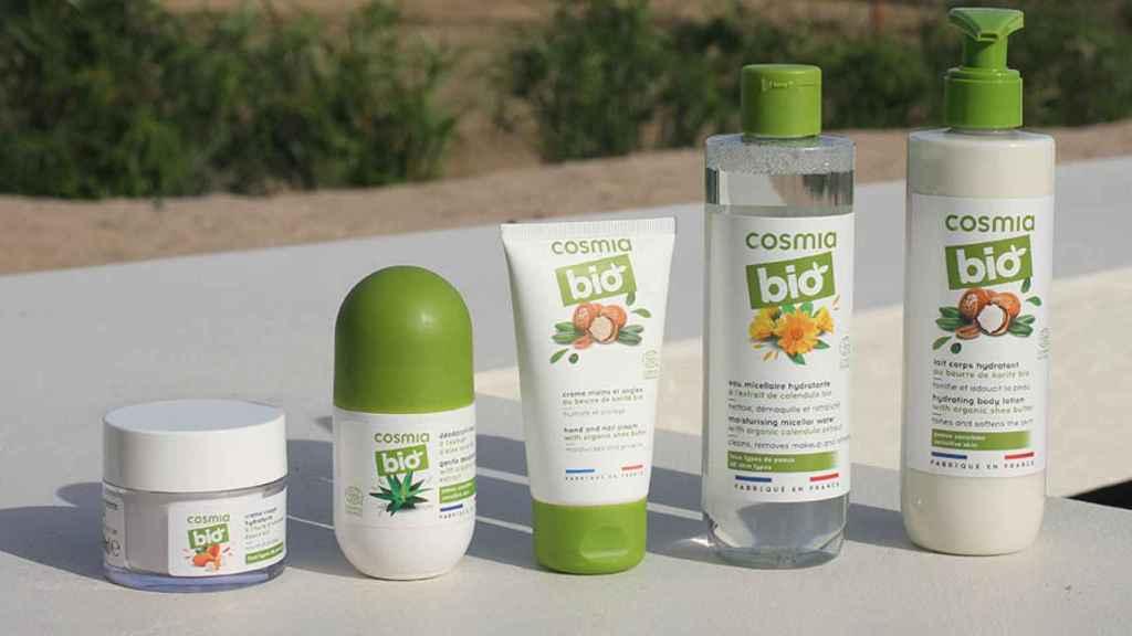 La gama de cosmética bio de Alcampo.