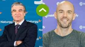 COMO LEONES:  Francisco Reynés (Naturgy) y Juan de Antonio (Cabify)