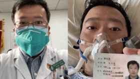 Li Wenliang, el médico que alertó del coronavirus y fue amonestado por diseminar rumores.