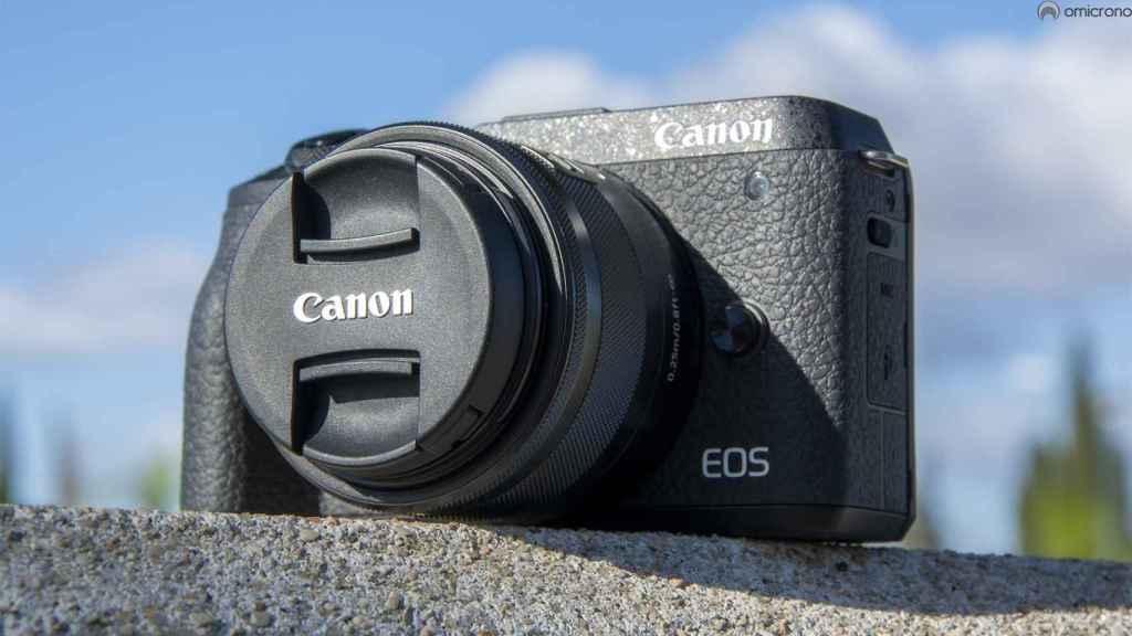 Canon EOS M6 Mark II.