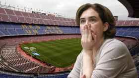 Ada Colau y el Camp Nou