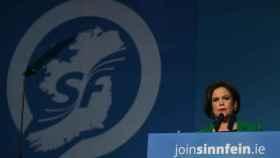 Mary Lou McDonald, presidenta del Sinn Fein.