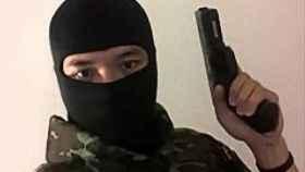 El autor del tiroteo en Nakhon Ratchasima (Tailandia), identificado como Jakrapanth Thomma.