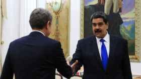 Zapatero viaja a Venezuela y se reúne con Maduro en el Palacio de Miraflores.
