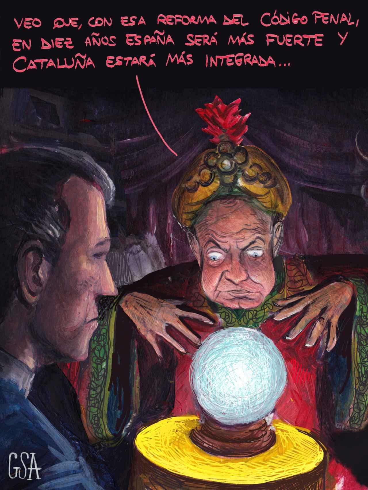 Zapatero, el adivino