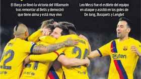 La portada del diario Sport (10/02/2020)