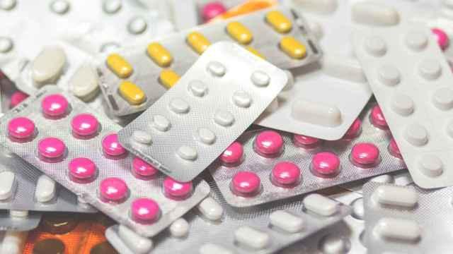 Varios medicamentos.