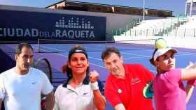 Albert Costa, Arantxa Sánchez Vicario, Emilio Sánchez Vicario y Anabel Medina estarán en la Ciudad de la Raqueta.
