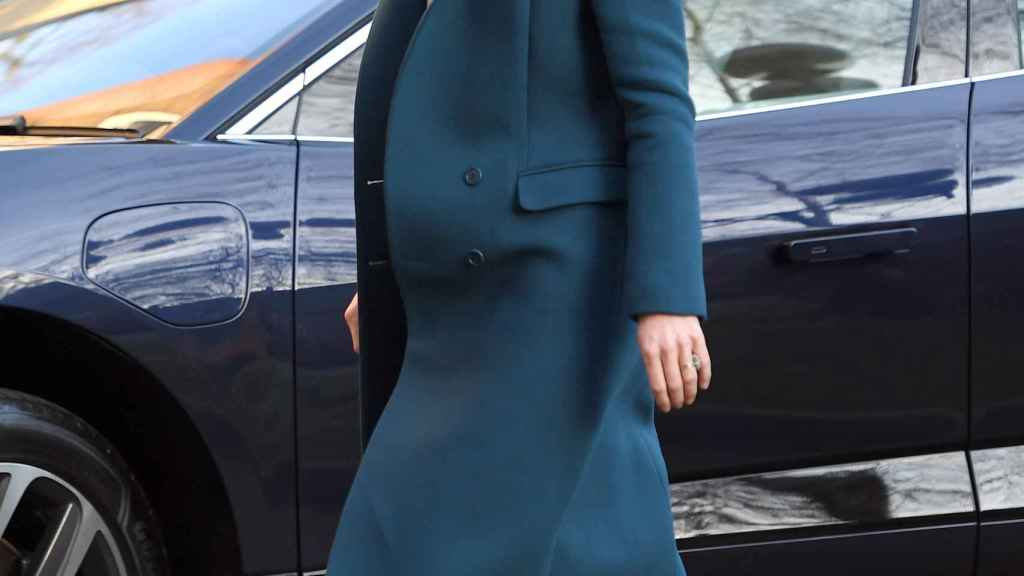 Kate Middleton visitando el LEYF.
