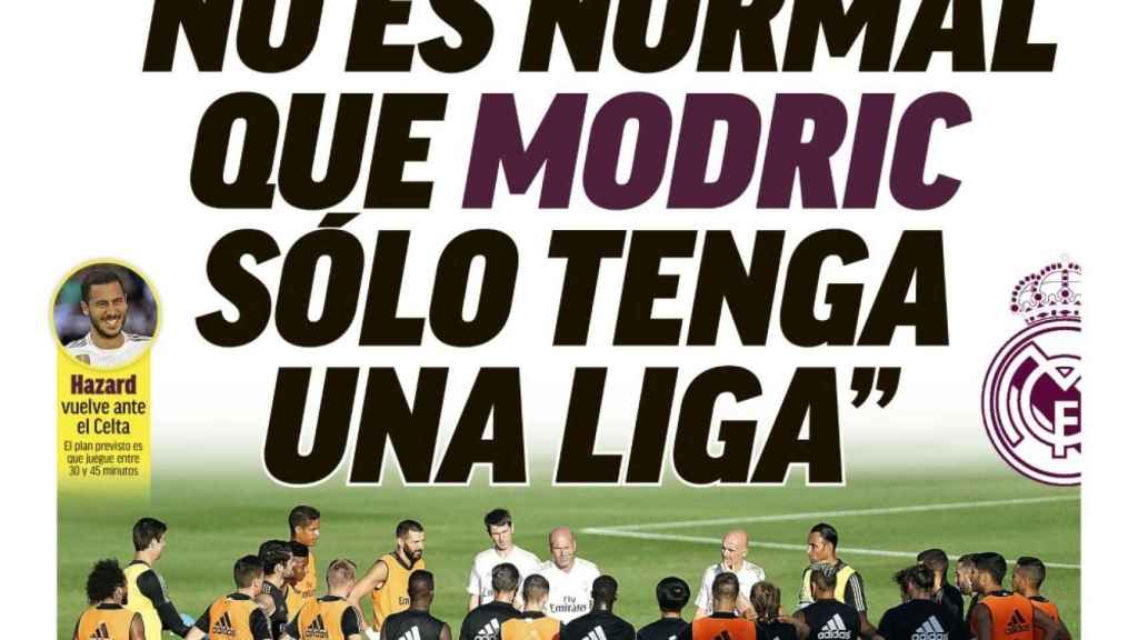 Portada MARCA (10/02/2020)