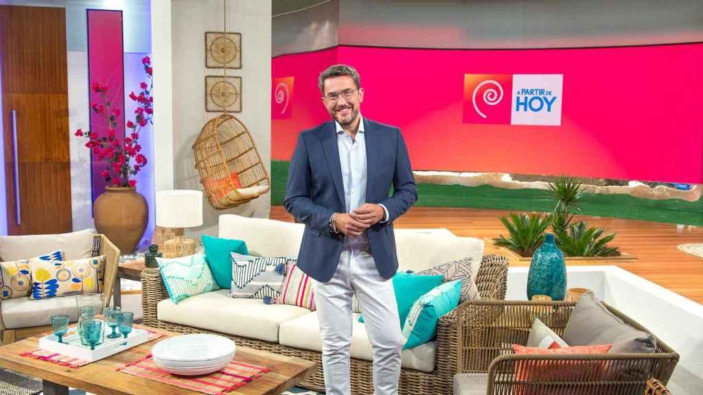 Màximo Huerta en una imagen promocional de 'A partir de hoy'.
