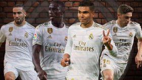 Un Real Madrid como una roca