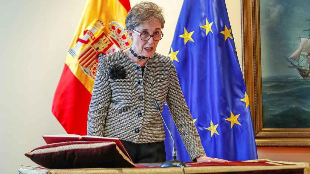 Paz Esteban toma posesión de su cargo como nueva directora del CNI.