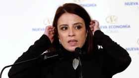 Adriana Lastra, portavoz del Grupo Socialista en el Congreso de los Diputados.