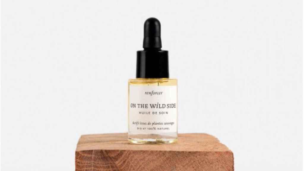 El aceite facial de la marca.