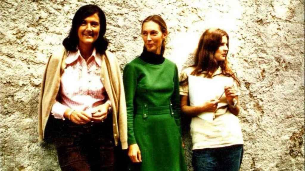 Dian Fossey, Jane Goodall y Biruté Galdikas.