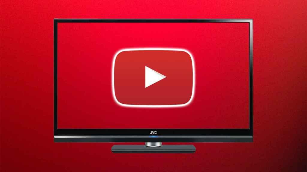 YouTube en la TV.