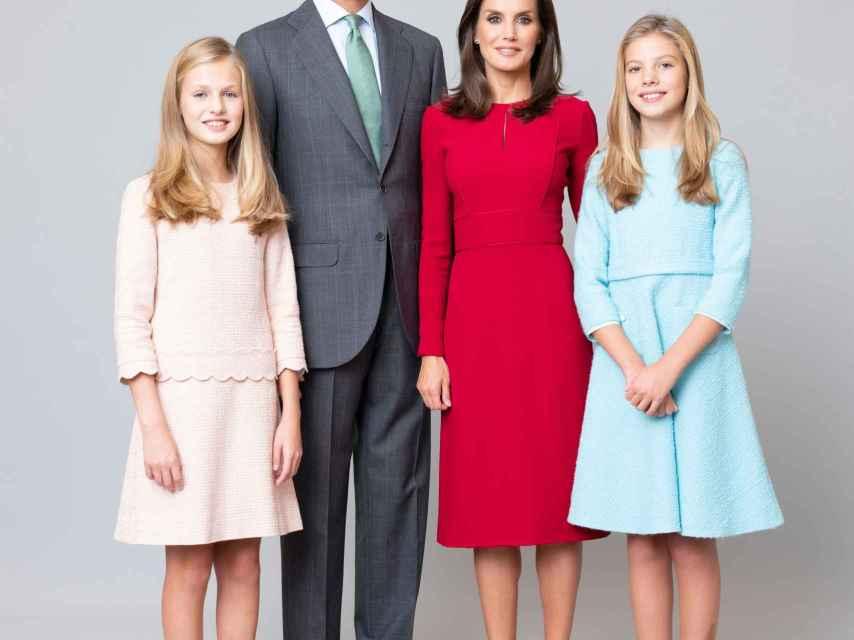 Retrato de la Familia Real.
