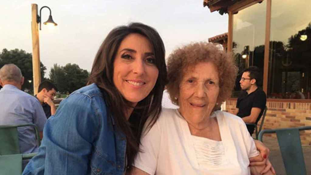Paz Padilla y su madre doña Lola (Instagram)