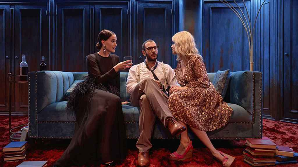 Anaïs Nin (Celia Freijeiro), Henry Miller (Carlos troya) y June Mansfield (Eva llorach).