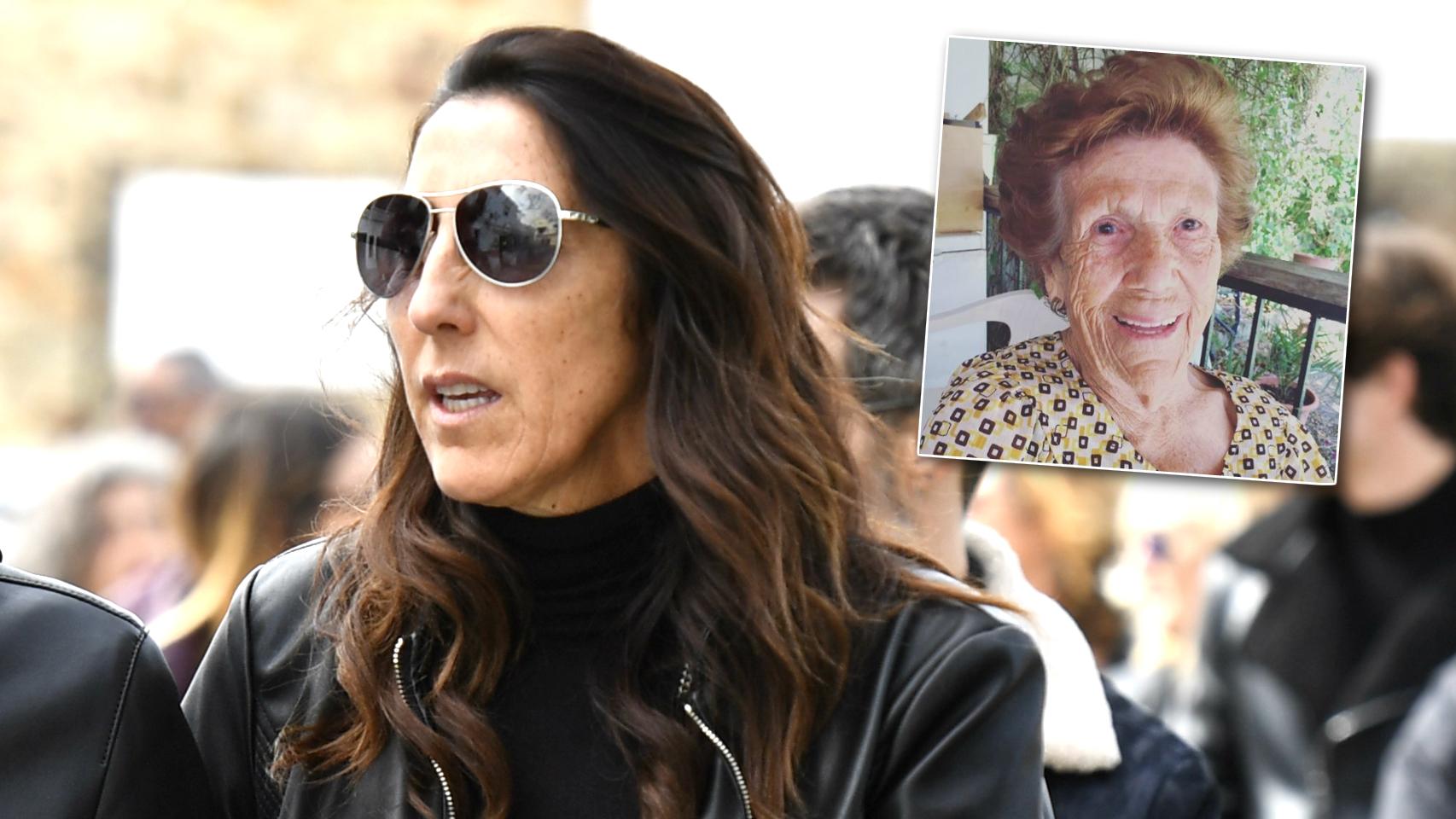 Paz Padilla y su madre Lola, en un montaje de JALEOS.