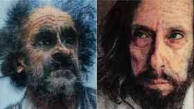 Dos de los retratos de José María Cano.