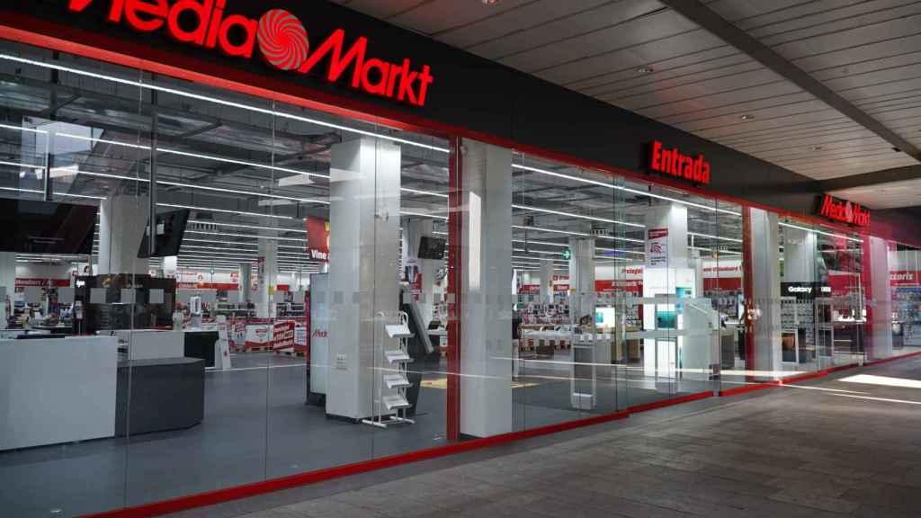 Campus Store de MediaMarkt en Barcelona.