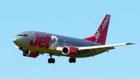 Un avión de la aerolínea británica Jet2