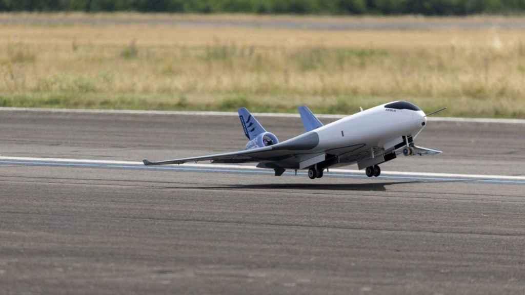 Las pruebas del modelo del Airbus MAVERIC continúan