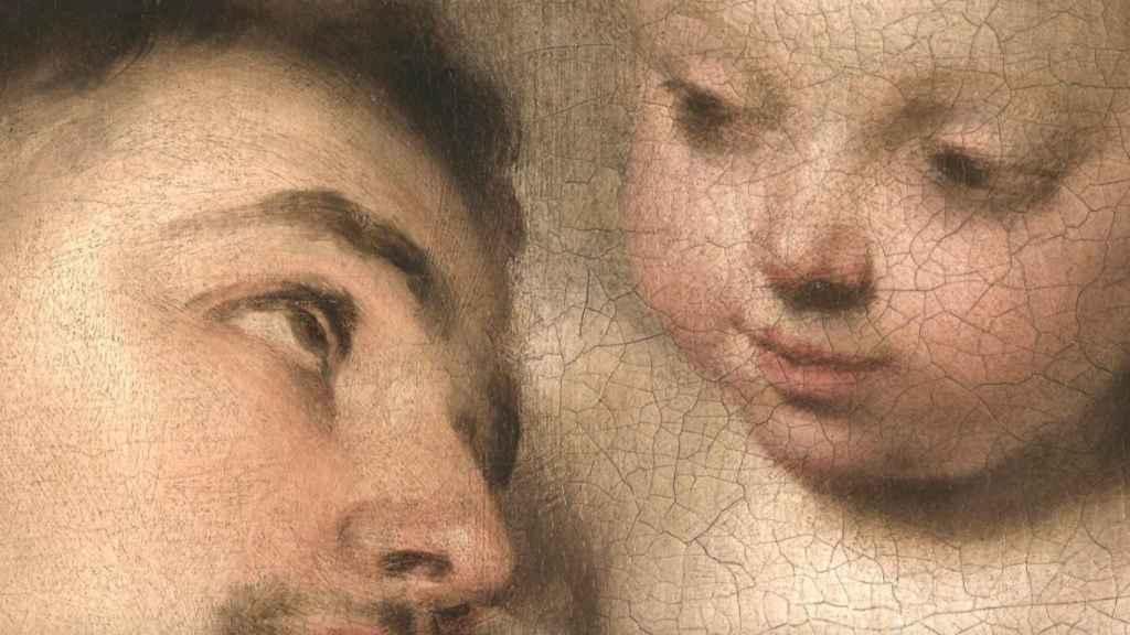 San Antonio de Padua, de Bartolomé Esteban Murillo. Capturada con tecnología Art Camera y con mayor resolución.
