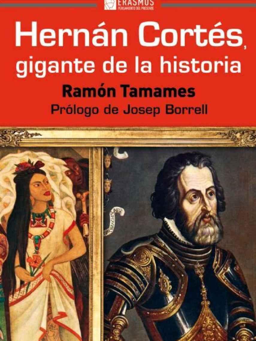 Portada de 'Hernán Cortés, gigante de la historia'.