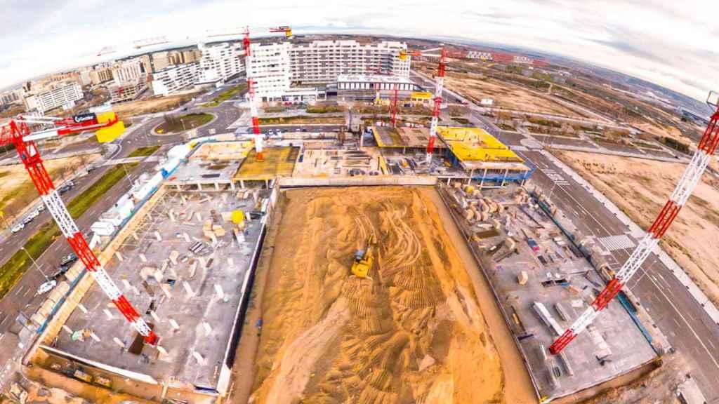 Imagen de de la Promoción Isla de Pedrosa en Valdebebas (Madrid).