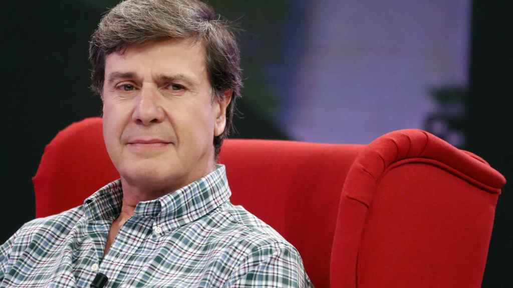 Cayetano Martínez de Irujo, en el plató de 'Viva la vida'.