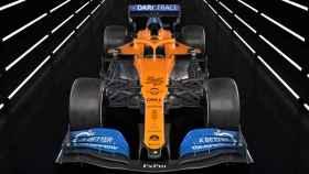 El McLaren MCL35 de Carlos Sainz