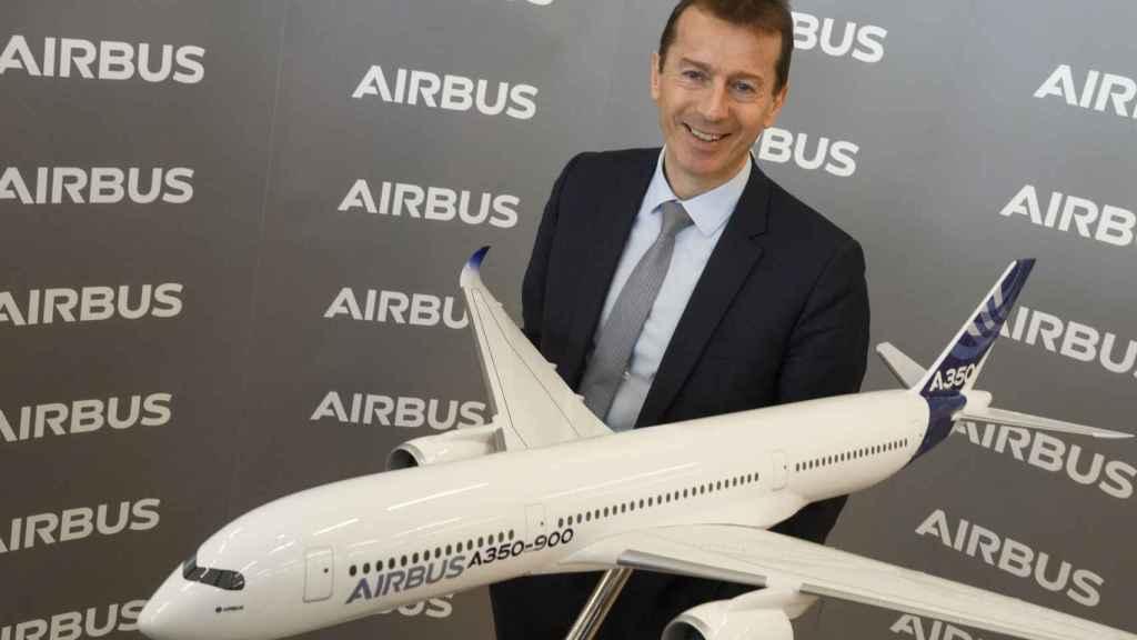 Guillaume Faury, CEO de Airbus durante la presentación de resultados 2020.