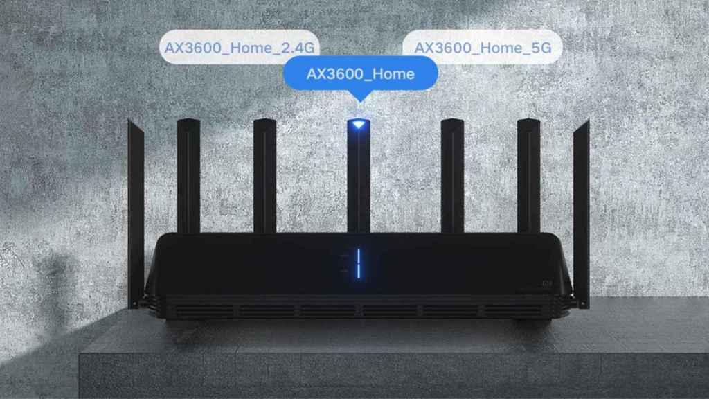 El router AX3600 de Xiaomi tiene siete antenas