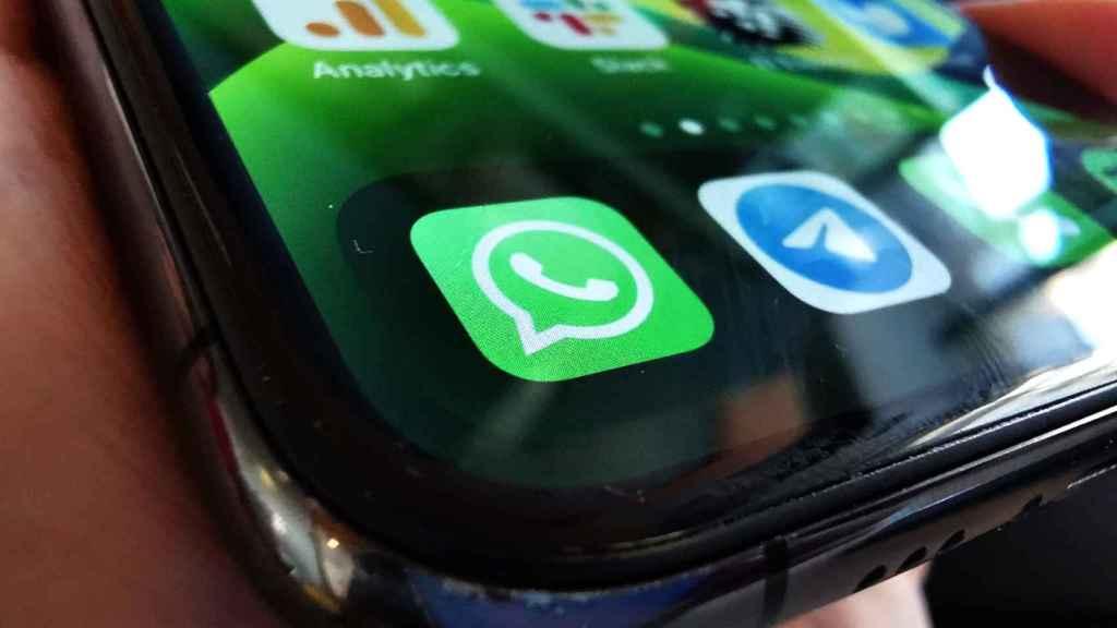 App de WhatsApp en iOS
