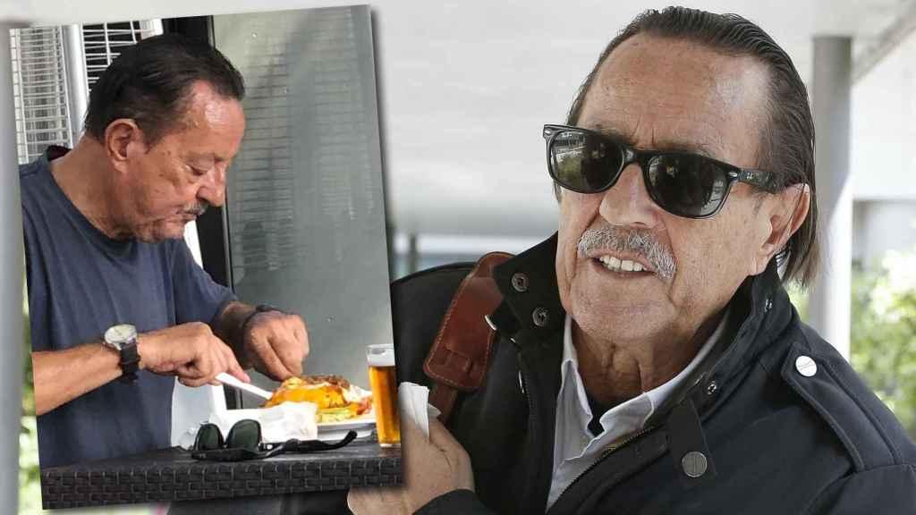 Julián Muñoz, en un montaje de JALEOS.