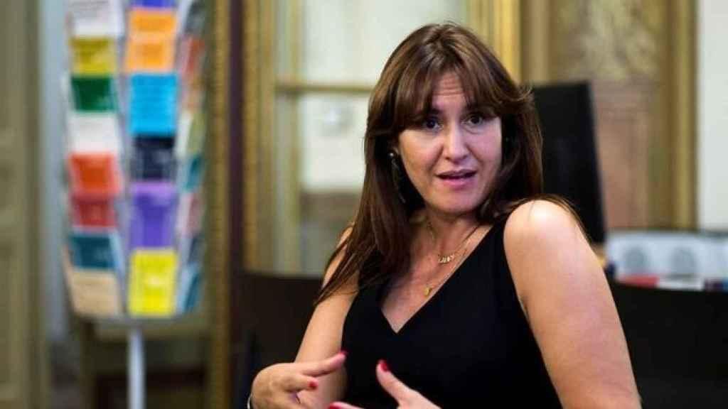 Laura Borràs es presidenta del Parlamento de Cataluña.