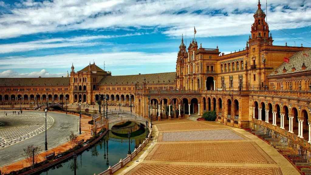 Plaza España de Sevilla.
