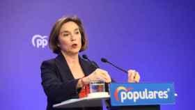 La vicesecretaria de Política Social del Partido Popular, Cuca Gamarra.