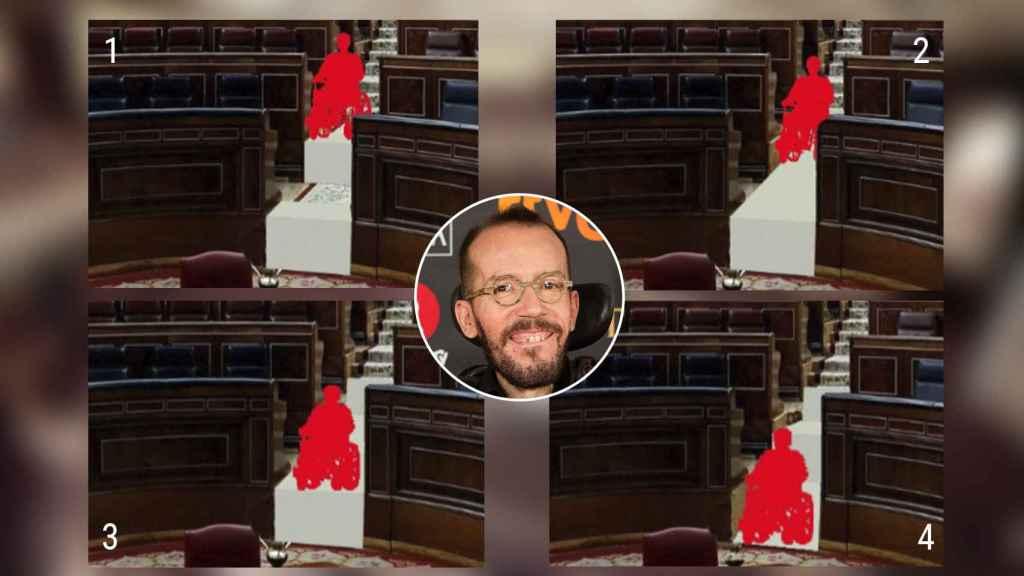 La Mesa del Congreso ha aprobado llevar a cabo una reforma del hemiciclo para mejorar la accesibilidad del diputado.