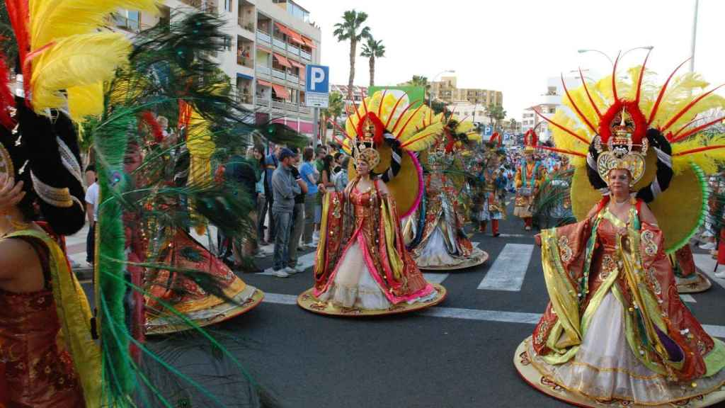 Llega el carnaval.